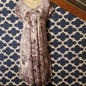 Womens xl apt 9 flowy jersey lounge dress